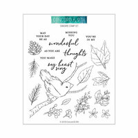 Concord and 9th - Clear Photopolymer Stamps - Songbird