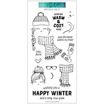 Concord and 9th - Clear Photopolymer Stamps - Winter Wear