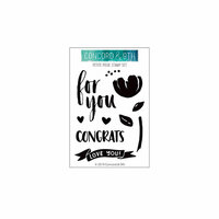 Concord and 9th - Clear Photopolymer Stamps - Petite Posie