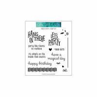 Concord and 9th - Clear Photopolymer Stamps - Pinata Party