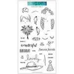 Concord and 9th - Clear Photopolymer Stamps - Fashion Wear