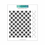 Concord and 9th - Clear Photopolymer Stamps - Gingham Background