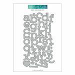 Concord and 9th - Dies - Simple Serif Alphabet