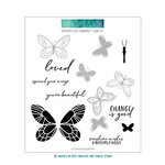 Concord and 9th - Clear Photopolymer Stamps - Butterfly Love Turnabout