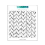 Concord and 9th - Clear Photopolymer Stamps - Herringbone Background