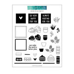 Concord and 9th - Clear Photopolymer Stamps - Rooting For You