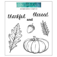 Concord and 9th - Clear Photopolymer Stamps - Autumn Harvest
