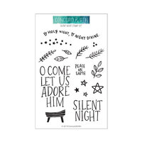 Concord and 9th - Clear Photopolymer Stamps - Silent Night