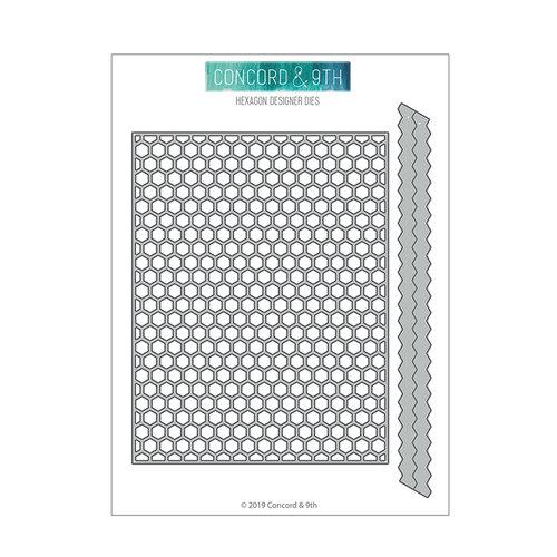 Concord and 9th - Winter Wonderland Collection - Dies - Hexagon Designer
