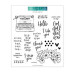 Concord and 9th - Clear Photopolymer Stamps - Type Talk