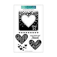 Concord and 9th - Clear Photopolymer Stamps - Sew Happy Hearts