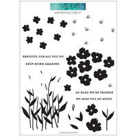 Concord and 9th - Clear Photopolymer Stamps - Wildflower Fields