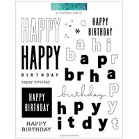 Concord and 9th - Clear Photopolymer Stamps - All The Birthdays