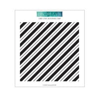 Concord and 9th - Clear Photopolymer Stamps - Candy Stripe Background