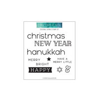 Concord and 9th - Clear Photopolymer Stamps - Seasonal Sayings