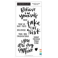 Concord and 9th - Clear Photopolymer Stamps - Painted Sayings