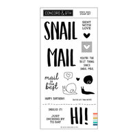 Concord and 9th - Clear Photopolymer Stamps - Snail Mail
