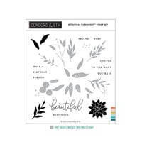 Concord and 9th - Clear Photopolymer Stamps - Botanical Turnabout