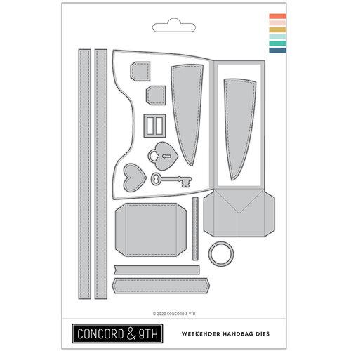 Concord and 9th - Dies - Weekender Handbag