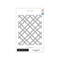 Concord and 9th - Dies - Plaid Card Front - Thin