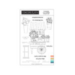 Concord and 9th - Clear Photopolymer Stamps - Flowers A La Carte