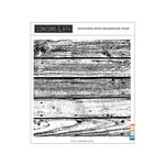 Concord and 9th - Clear Photopolymer Stamps - Weathered Wood Background