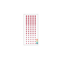 Concord and 9th - Enamel Dots - Cranberry