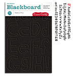 Cosmo Cricket - Cogsmo Collection - Blackboard Alphabet - Retro Mix