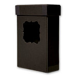 Cosmo Cricket - Blackboard Collection - 4 x 6 Photo Box