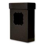 Cosmo Cricket - Blackboard Collection - 4 x 6 Photo Box