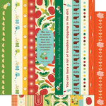 Cosmo Cricket - Garden Variety Collection - 12 x 12 Double Sided Paper - Borders