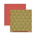 Cosmo Cricket - Evangeline Collection - 12 x 12 Double Sided Paper - Honey Bee