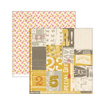 Cosmo Cricket - 23 Collection - 12 x 12 Double Sided Paper - Postcards