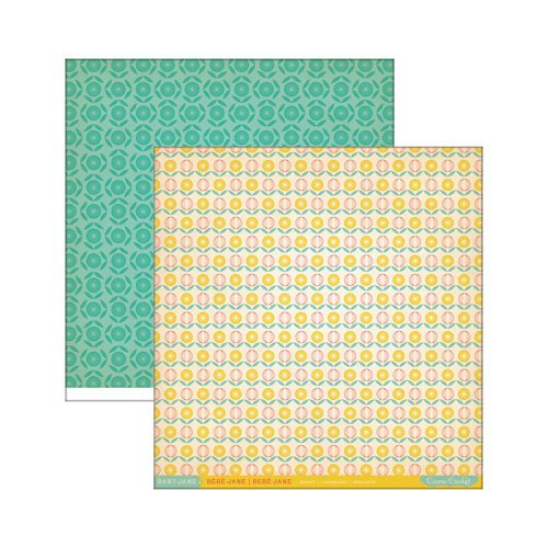 Cosmo Cricket - Baby Jane Collection - 12 x 12 Double Sided Paper - Bright