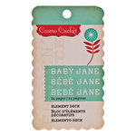 Cosmo Cricket - Baby Jane Collection - Element Deck - Designer Tags