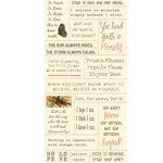 Cosmo Cricket - Cardstock Stickers - Tiny Text - Faith