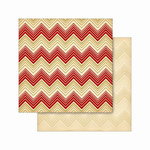 Cosmo Cricket - Jolly Days Collection - Christmas - 12 x 12 Double Sided Paper - Candy Cane