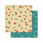 Cosmo Cricket - Jolly Days Collection - Christmas - 12 x 12 Double Sided Paper - Tradition