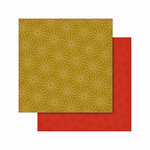 Cosmo Cricket - Jolly Days Collection - Christmas - 12 x 12 Double Sided Paper - Twinkle