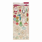 Cosmo Cricket - Jolly Days Collection - Christmas - Ready Set Chipboard