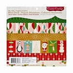 Cosmo Cricket - Jolly Days Collection - Christmas - Mini Deck - 8 x 8 Paper Pad