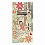 Cosmo Cricket - Art Angel Collection - Ready Set Chipboard