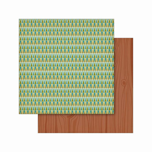 Cosmo Cricket - Smore Love Collection - 12 x 12 Double Sided Paper - Forest Trails