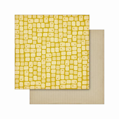 Cosmo Cricket - Smore Love Collection - 12 x 12 Double Sided Paper - River Rocks