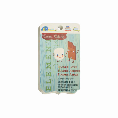Cosmo Cricket - Smore Love Collection - Element Deck - Designer Tags
