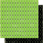 Cosmo Cricket - Hello Sunshine Collection - 12x12 Double Sided Paper - Clover, CLEARANCE