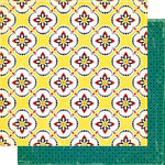 Cosmo Cricket - Hello Sunshine Collection - 12x12 Double Sided Paper - Picnic
