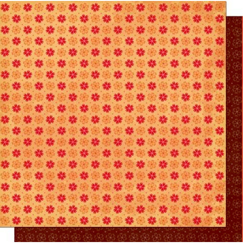 Cosmo Cricket - Chemistry Collection - Valentines - 12 x 12 Double Sided Paper - Forget Me Not, CLEARANCE