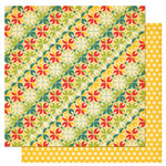 Cosmo Cricket - Early Bird Collection - 12 x 12 Double Sided Paper - Sunrise