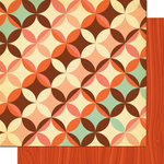 Cosmo Cricket - Nutmeg Collection - 12 x 12 Double Sided Paper - Clove